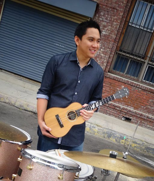 Abe Lagrimas ukulele drums s - Official Homepage of Kenny Endo